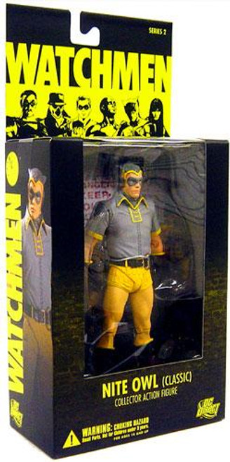 DC Watchmen Series 2 Nite Owl Action Figure [Classic]