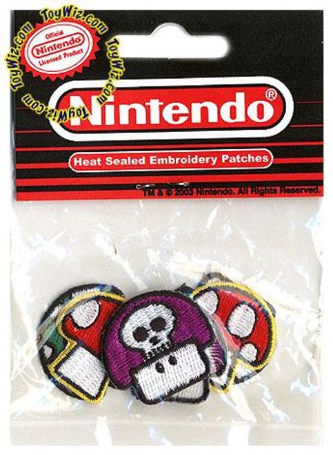 Nintendo Mushroom Patch Assortment