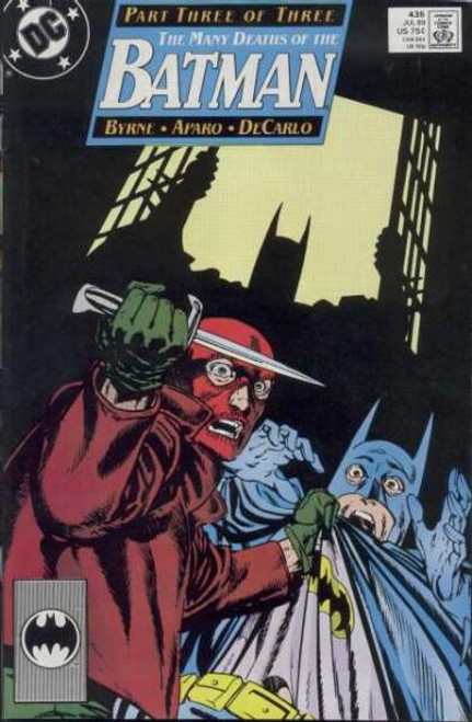 Batman Comic Book #435