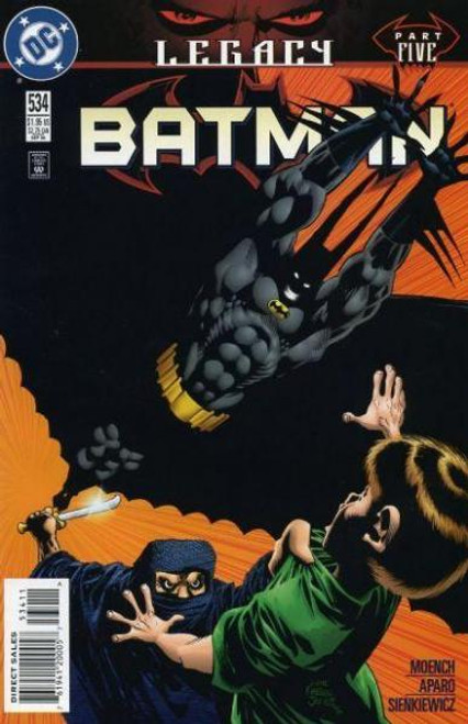 Batman Legacy Comic Book #534