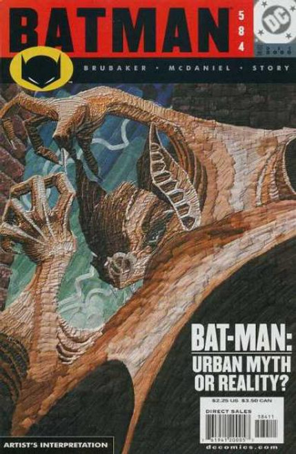 Batman Comic Book #584