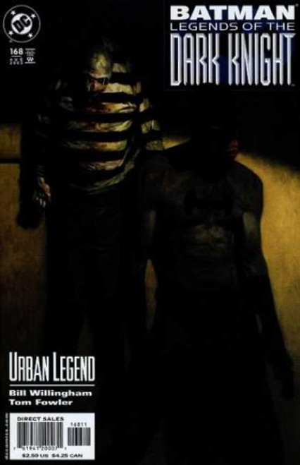 Batman: Legends of the Dark Knight Comic Book #168