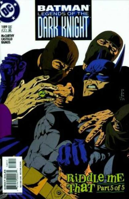Batman: Legends of the Dark Knight Comic Book #189