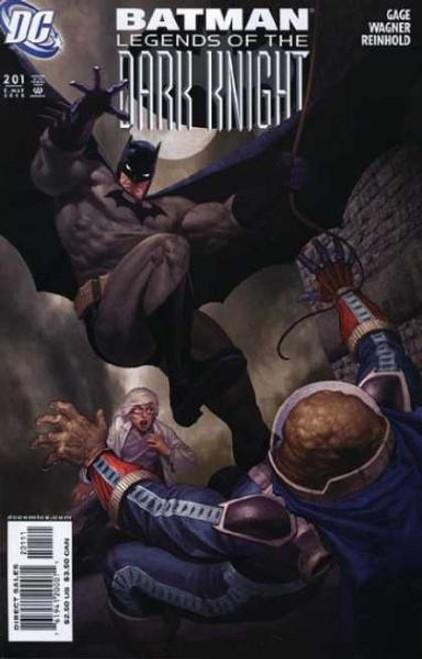 Batman: Legends of the Dark Knight Comic Book #201
