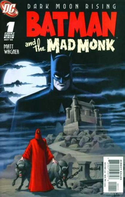 Batman and The Mad Monk Comic Book #1
