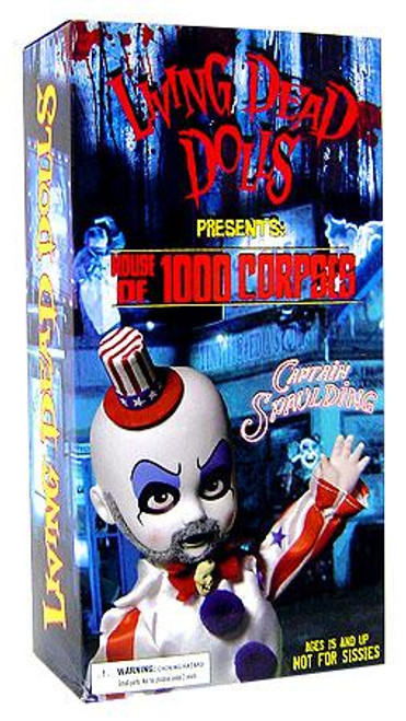 Living Dead Dolls House of 1000 Corpses Captain Spaulding Exclusive Doll