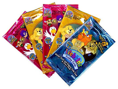 Webkinz Trading Cards Series 3 Booster Pack