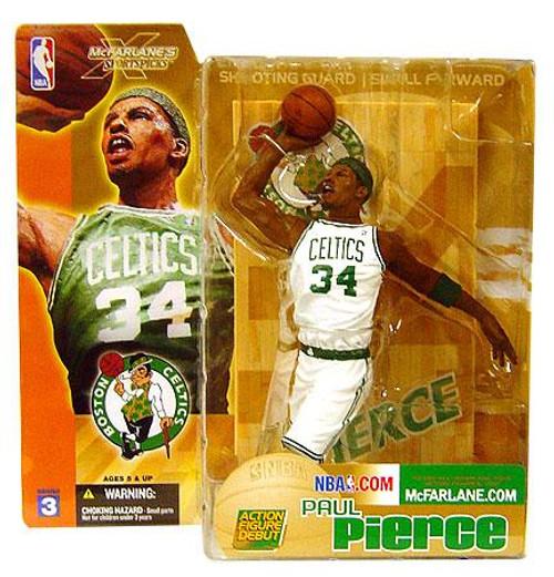 McFarlane Toys NBA Boston Celtics Sports Picks Series 3 Paul Pierce Action Figure [White Jersey Variant]