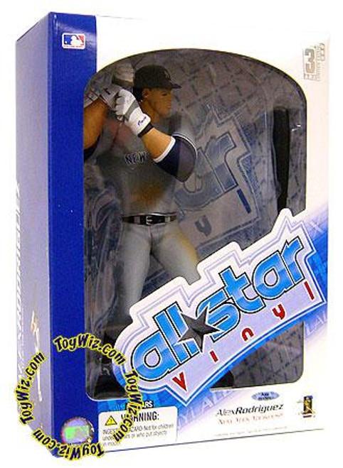 MLB New York Yankees All Star Vinyl Alex Rodriguez Vinyl Figure [Gray Jersey]