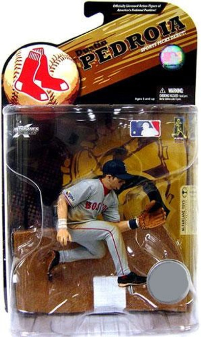 McFarlane Toys MLB Boston Red Sox Sports Picks Series 23 Exclusive Dustin Pedroia Exclusive Action Figure