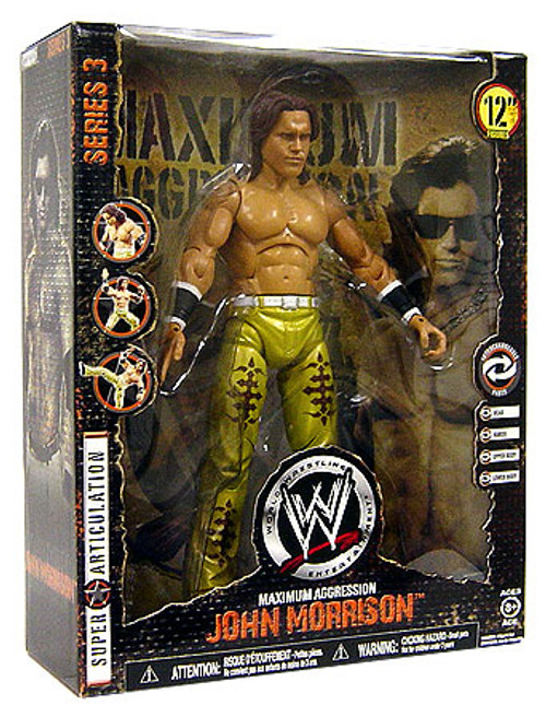 WWE Wrestling Maximum Aggression Series 3 John Morrison Action Figure