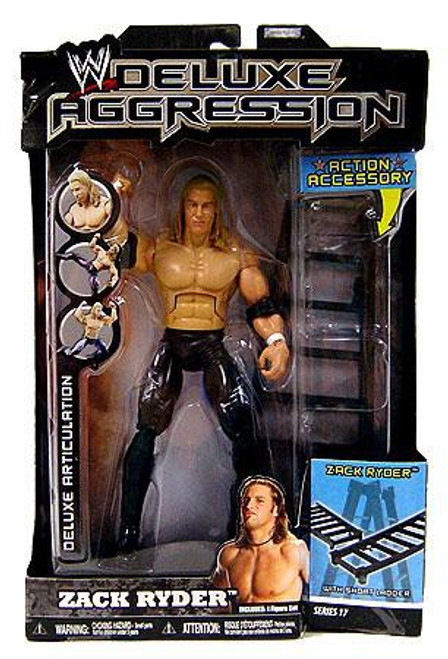 WWE Wrestling Deluxe Aggression Series 17 Zack Ryder Action Figure