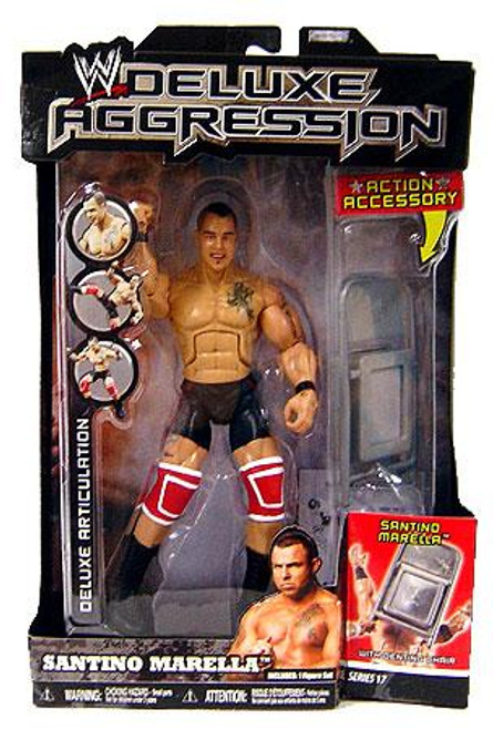 WWE Wrestling Deluxe Aggression Series 17 Santino Marrella Action Figure