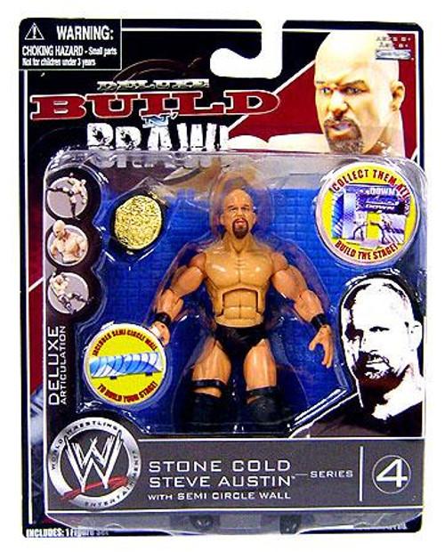 WWE Wrestling Build N' Brawl Series 4 Stone Cold Steve Austin Action Figure