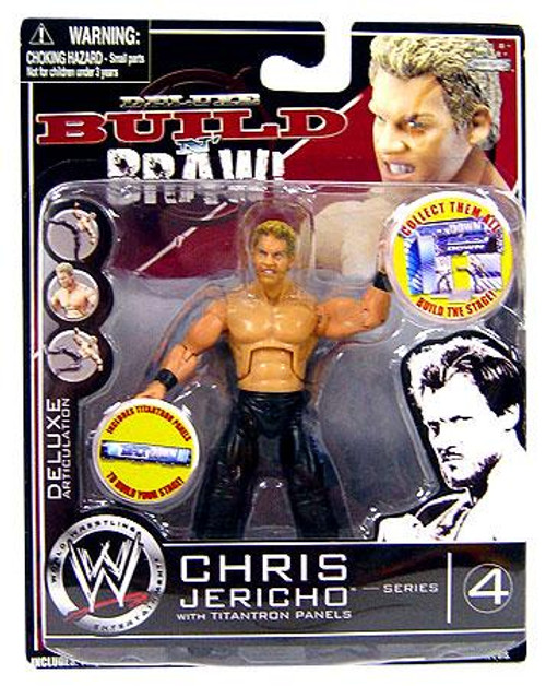 WWE Wrestling Build N' Brawl Series 4 Chris Jericho Action Figure