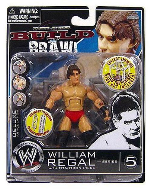 WWE Wrestling Build N' Brawl Series 5 William Regal Action Figure