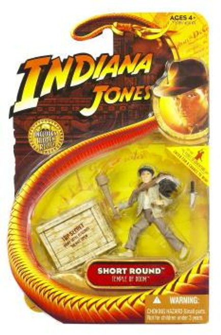 Indiana Jones Temple of Doom Series 4 Short Round Action Figure
