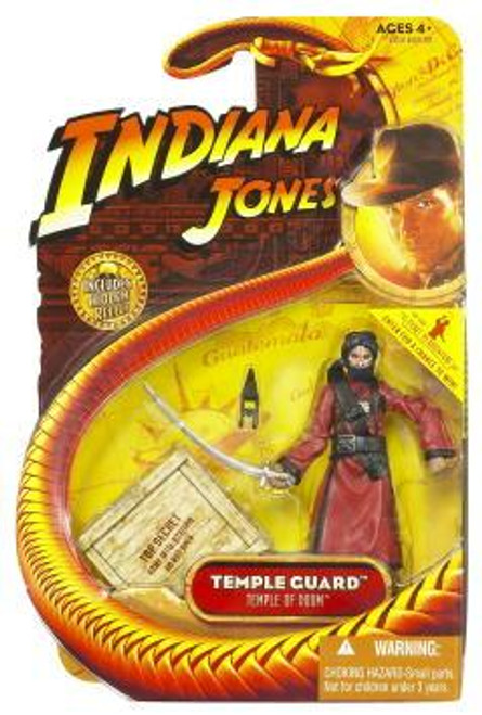 Indiana Jones Temple of Doom Series 4 Temple Guard Action Figure