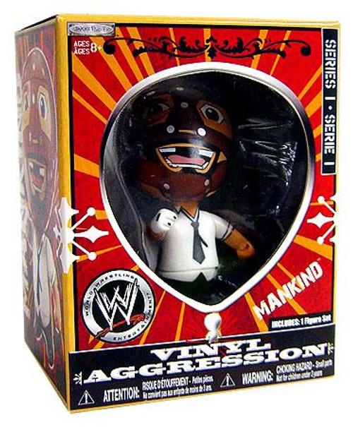 WWE Wrestling Vinyl Aggression Series 1 Mankind 3-Inch Vinyl Figure