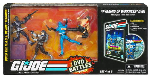 GI Joe DVD Battles Pyramid of Darkness Action Figure Set #4