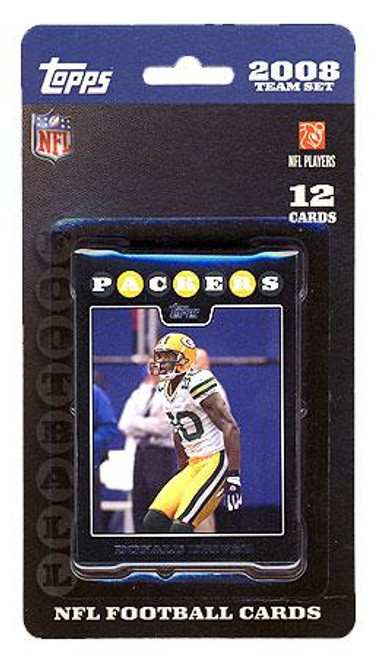 NFL 2008 Topps Football Cards Green Bay Packers Team Set
