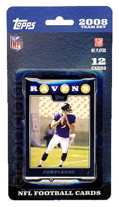 NFL 2008 Topps Football Cards Baltimore Ravens Team Set