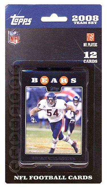 NFL 2008 Topps Football Cards Chicago Bears Team Set