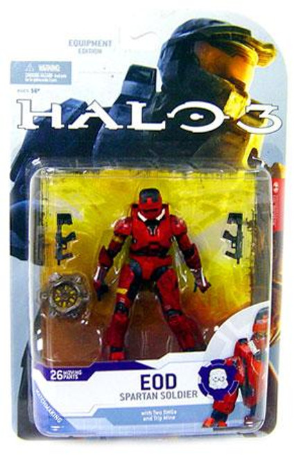 McFarlane Toys Halo 3 Series 4 Spartan Soldier EOD Action Figure [Red]