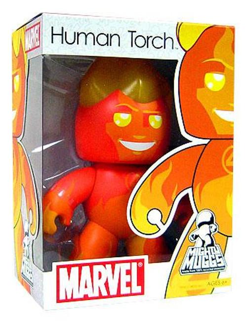 Marvel Mighty Muggs Series 4 Human Torch Vinyl Figure