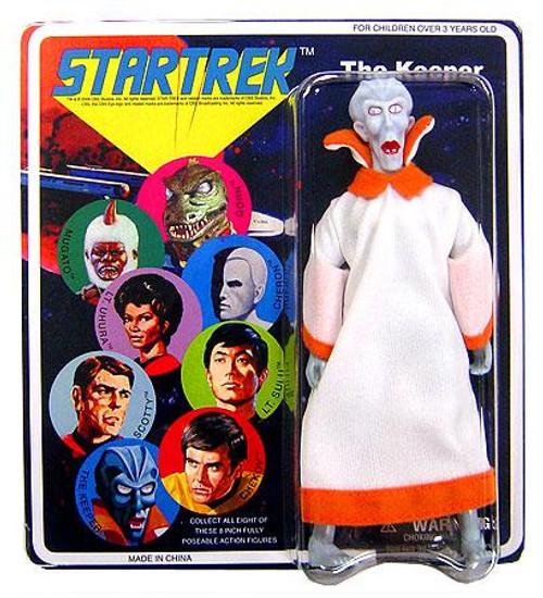 Star Trek The Original Series Series 4 Cloth Retro The Keeper Action Figure
