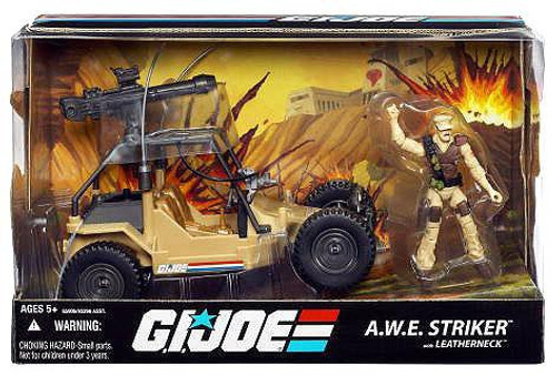 GI Joe 25th Anniversary A.W.E. Striker Action Figure Vehicle
