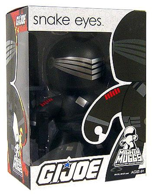 GI Joe Mighty Muggs Wave 1 Snake Eyes Vinyl Figure