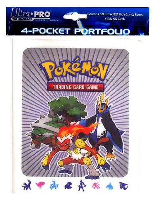 Ultra Pro Pokemon Card Supplies Diamond & Pearl 4-Pocket Binder