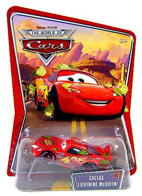 Disney Cars The World of Cars Series 1 Cactus Lightning McQueen Diecast Car