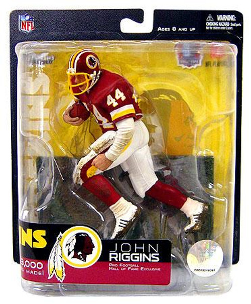 McFarlane Toys NFL Washington Redskins Sports Picks Hall of Fame John Riggins Exclusive Action Figure [Red Jersey]
