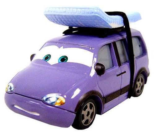Disney Cars Loose Leroy Traffik Diecast Car [Loose]