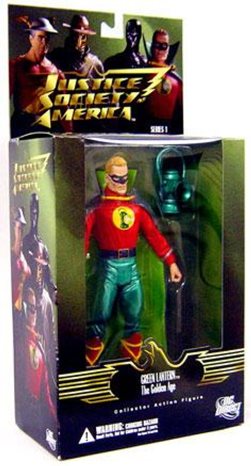 DC Justice Society of America Series 1 Golden Age Green Lantern Action Figure