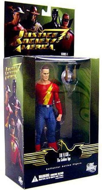 DC Justice Society of America Series 1 Golden Age The Flash Action Figure [Jay Garrick]
