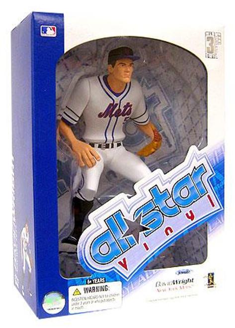 MLB New York Mets All Star Vinyl David Wright Vinyl Figure [White Jersey]