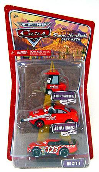Disney Cars The World of Cars Multi-Packs Team No Stall Gift Pack Diecast Car Set