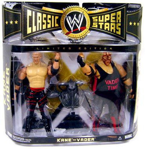 WWE Wrestling Classic Superstars Limited Editions Kane vs. Vader Exclusive Action Figure 2-Pack