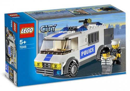 LEGO City Prisoner Transport Set #7245