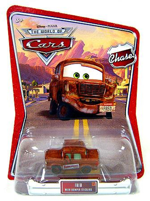 Disney Cars The World of Cars Series 1 Fred with Bumper Stickers Diecast Car