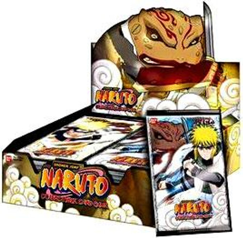 Naruto Card Game Approaching Wind Booster Box