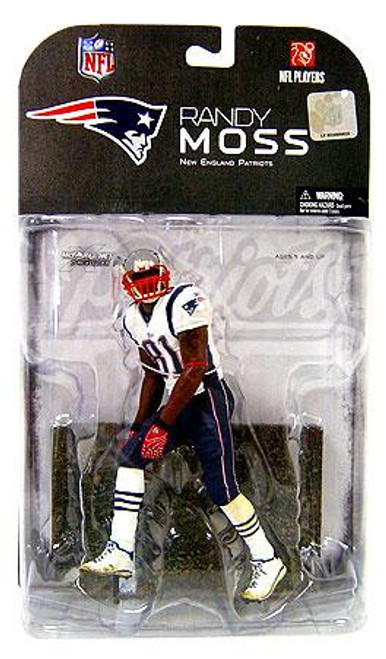 McFarlane Toys NFL New England Patriots Sports Picks Series 17 Randy Moss Action Figure [Red Armband Variant]