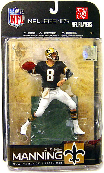 McFarlane Toys NFL New Orleans Saints Sports Picks Legends Series 5 Archie Manning Action Figure