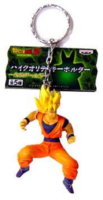 Dragon Ball Z Cell Saga Super Saiyan Goku Keychain