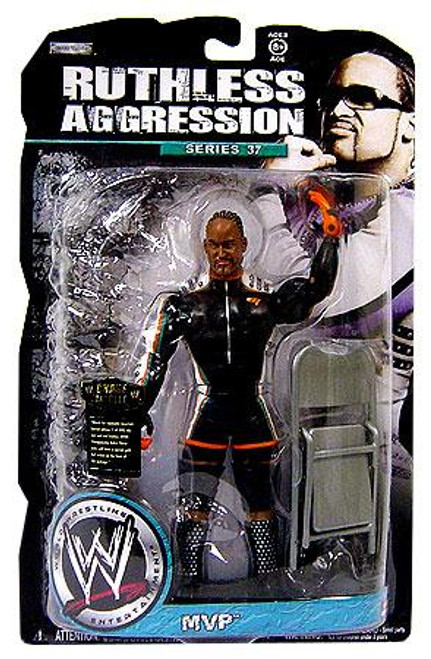 WWE Wrestling Ruthless Aggression Series 37 MVP Action Figure