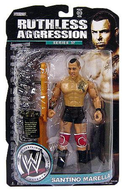 WWE Wrestling Ruthless Aggression Series 37 Santino Marella Action Figure