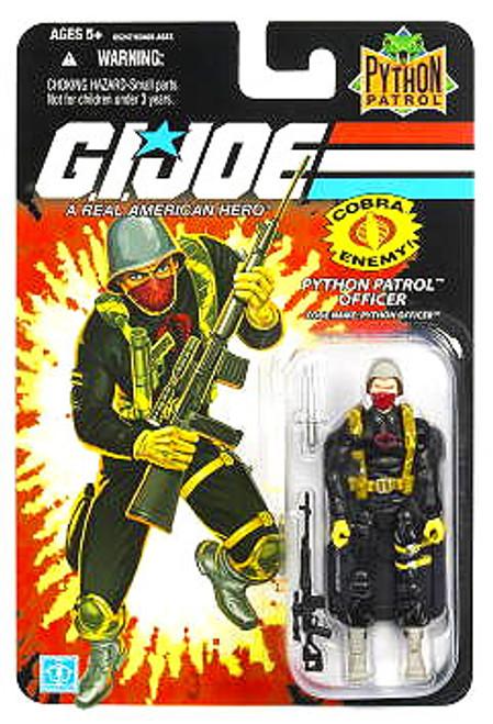 GI Joe Wave 8 Python Officer Action Figure